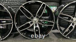 Ex Display 18 Mercedes Amg Sport Style En Alliage Noir Classe A Classe B Cla +