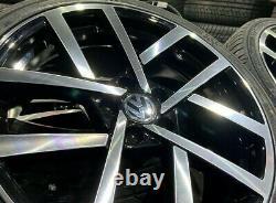 Ex Display 18 Vw 2019 Golf R Style Alliage Roues Et 225/40/18 Pneumatiques Gtd Gti Tdi