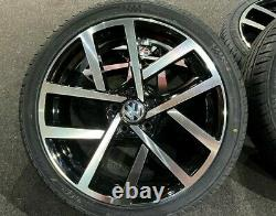 Ex Display 18 Vw 2019 Golf R Style Alloy Wheels Et 225/40/18 Pneus Gtd Gti Tdi