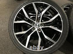 Ex Display 18 Vw Golf Gtd Santiago Style Alloy Wheels And 225/40/18 Pneus