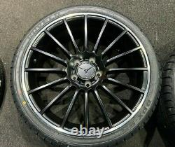 Ex Display 19 Mercedes Amg Style Alloy Wheels And 235/35/19 Pneus Classe A/b Cla