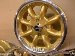 Ford Capri Cortina Escort6x15 Alliage De Vaisselle Jeu De Roues Jbw Minilight Style 15 X 6