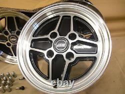 Ford Escort Capri Cortina 6x13 Jeu De Roues En Alliage Jbw Rs4 Spoke Style 13x6 Et16
