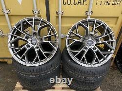 Ford Transit M Sport Style Alliage Roues 20 Platinum Transit Custom 8.5j + Tyres