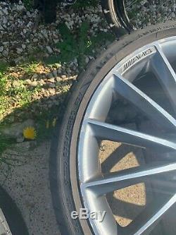 Jantes En Alliage Et Pneus 3 X 20 Amg Turbine Noir Style / Pol Mercedes Classe E W213