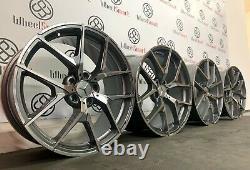 Mercedes 20 Amg 507 Roues En Alliage De Style 5 X 112 Gris / Diamant Fini