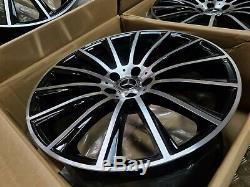 Mercedes Amg Style Turbine 20 Roues En Alliage Twist E W222 W213 Classe S Staggered