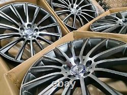 Mercedes Amg Turbine Style 20 Alliage Roue W222 E S Classe Décalé Montage Gratuit