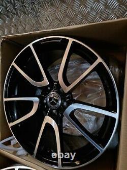 Mercedes C E Classe C43 19 Amg Style Alliage Roues W204 W205 W212 W213 Twist