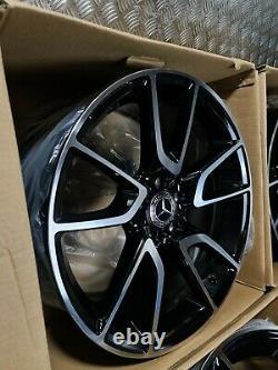Mercedes E43 Amg Style 19 Alloy Wheels Twist W213 W222 E S Classe Vito Décalé