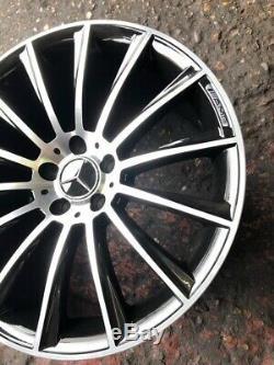 Nouveau 19 Pouces Amg Mercedes C Style Et Des Jantes En Alliage Classe E 19 X4 Set Complet