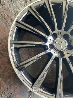 Nouveau 20 Pouces Amg Mercedes S Style / E / Cls Jantes En Alliage Classe 20 X4 Set Full Set