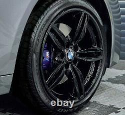 R379bg Swap Bmw 5 6 Série 4x 19 Genuine Style 351m Gloss Black Alloy Whoels