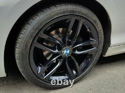 R579bg Swap Bmw 1 2 Série 4x 18 Genuine Style 461m Gloss Black Alloy Whoels