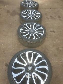 Range Rover Sport / Vogue 22 Turbine Style Alliages Roues Avec Pneus X4
