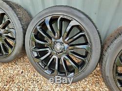 Range Rover Vogue L405 Turbine 22 Pouces En Alliage Style 7007 Roues Et Pneus