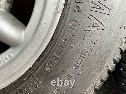 Rare Carmona Alloy Roues Classic Mini Minilite Style Mk1 Mk2 Cooper 10 X 5