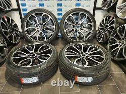 S'adapte Land Rover & Range Rover Sport 22'' Inch 5007 Style Nouveau Alliage Roues & Tyres