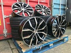 Santiago Style Gti Gtd 19 Inch Alloy Wheels Ensemble De 4 Pneus Flambant Neufs 19