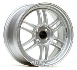 Ultralite F1 17 7.5j Et42 4x100 Flat Silver Alloy Wheels Rpf1 Style Jr7 Y3175