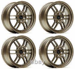 Ultralite F1 17 7.5j Et42 5x114.3 Plat Bronze Jantes Rpf1 Jr7 Style Y3197