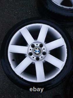 Véritable Bmw 17 Style 44 Alloy Wheels Rims 5x120 Vw Transporter Vauxhall Vivaro