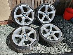 Véritable Bmw 19 Style 230 Bbs Twist Alloy Wheels Décalé E90 E91 E92 E93 Z3 Z4