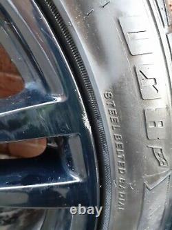 Véritables Bmw Alloy Wheels 18style 400m Msport 4/3 Série F30 F31 F32 F33 E90 E46