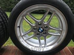 Véritables Bmw Style 37 M Roues Et Pneus En Alliage Parallèle 18 E38 E34 E36