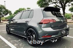 Vw Golf R / Gti / Caddy 19'' Inch Roues En Alliage De Style Pretoria Avec Pneus Neufs