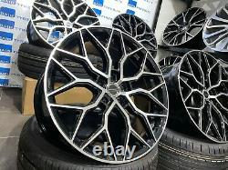 Vw Transporter T5 / T6 20 Inch Vossen Hf-2 Style Alloy Wheels With New Tyres