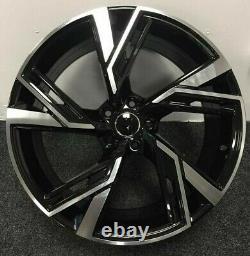 X4 18 Pouces Rs6 2020 Style Alloy Wheels 8j Et45 5x112 Audi Tt A3 A4 Vw Golf Caddy