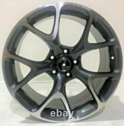 X4 19 Vxr 5x110 Style Alliage Roues Gmf Vauxhall Astra Vectra 8.5j