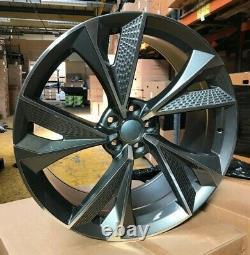 X4 20 Rs7 2020 Style Alliage Roues 9j Et35 Audi A4 A5 A6 A7 A8 Gloss Gmf