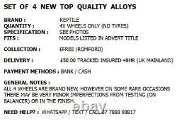X4 Nouvelles Roues En Alliage 20 Alliages Bmw 7 6 5 Série Z4 X3 Gt 5gt Alpina Style Noir